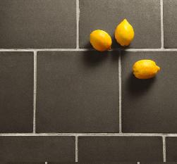 New Black terracotta tiles